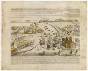 The siege and taking of Quebeck with a view of the glorious battle before the town